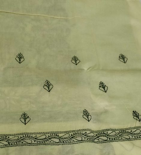Chikankari bottom
