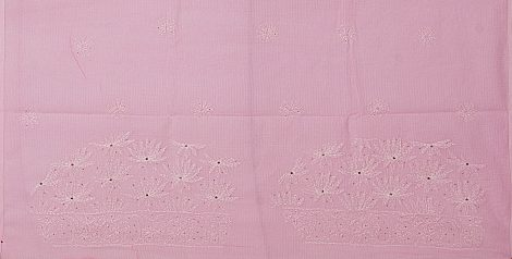 Image of Chikankari saree blouse